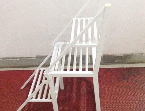 Multifunctional folding chair