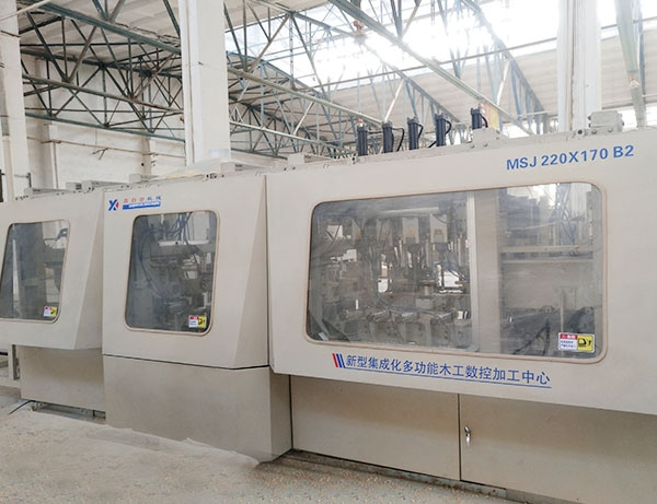 New Integrated Multifunctional Woodworking CNC Machining Center